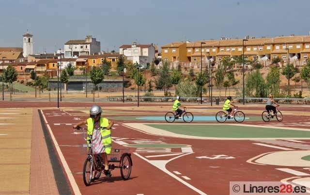 Balance satisfactorio del curso en Parque Infantil de Tráfico de Linares