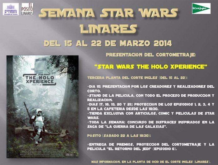 Semana Star Wars en Linares