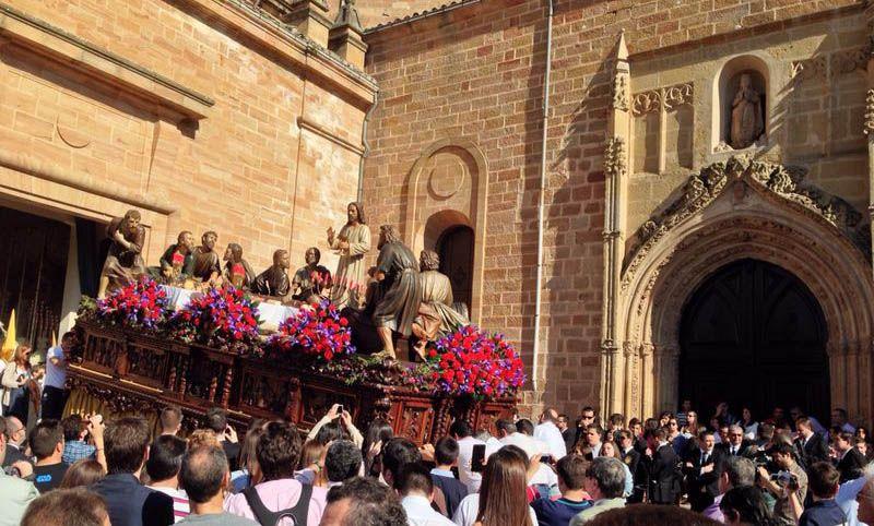 La Santa Cena en las calles de Linares