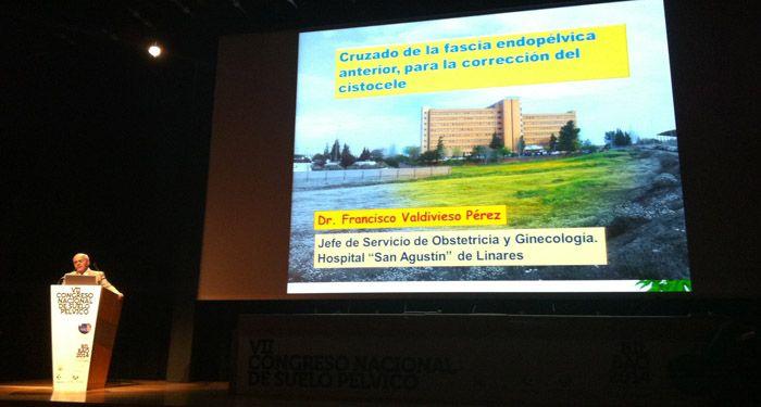 Un vídeo sobre una técnica quirúrgica usada en el Hospital de Linares es destacado en el VIII Congreso Nacional de Ginecología
