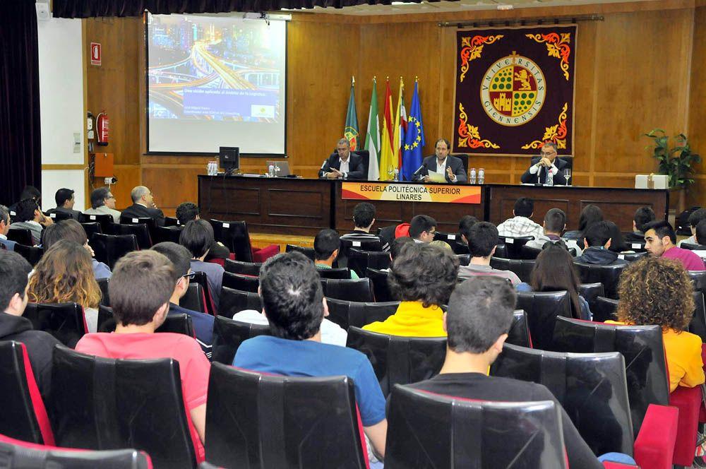 La Escuela Politécnica Superior de Linares acogió una jornada técnica sobre sistemas SAP