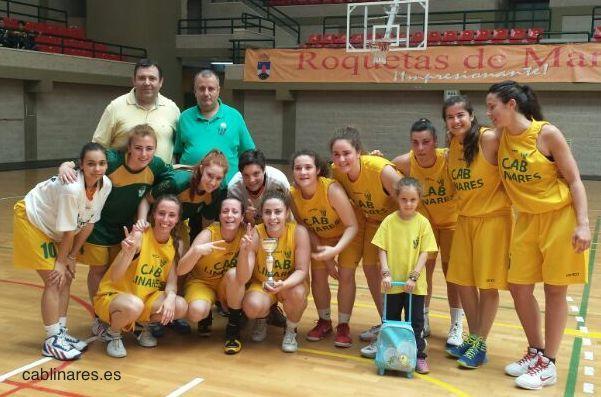 Las senior del CAB Linares Campeonas de la Copa Federación