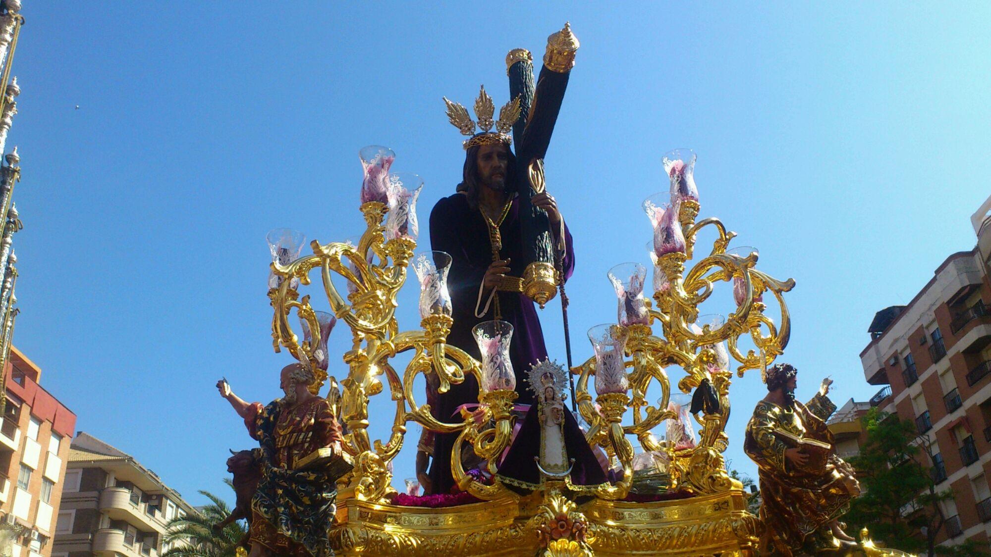 El Nazareno vuelve a Bendecir a Linares en Santa Margarita