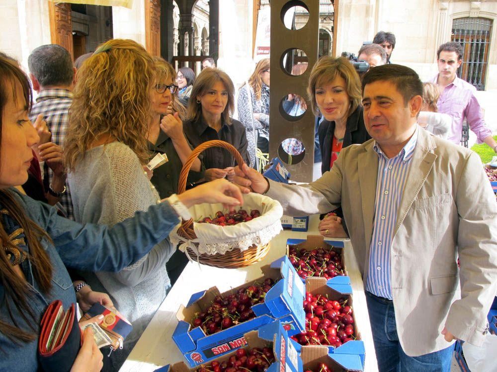 La II Muestra Provincial de la Cereza llegará este año a veinte municipios jiennenses y algunos de Córdoba