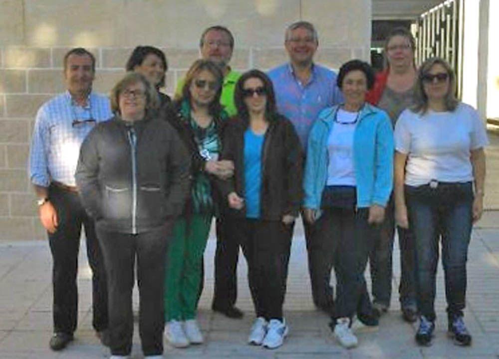 El centro de salud 'Arrayanes' de Linares organiza dos rutas saludables dentro programa 'Por un millón de pasos'