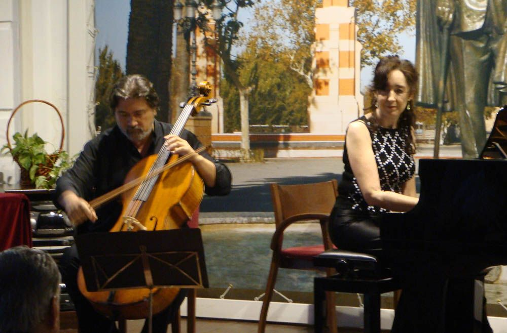 Concierto de violonchelo y piano en la Casa Museo