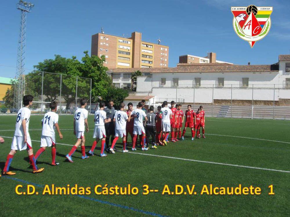 El equipo Infantil del C.D. Almidas Cástulo se clasifica para los cuartos de final de la Copa Diputación