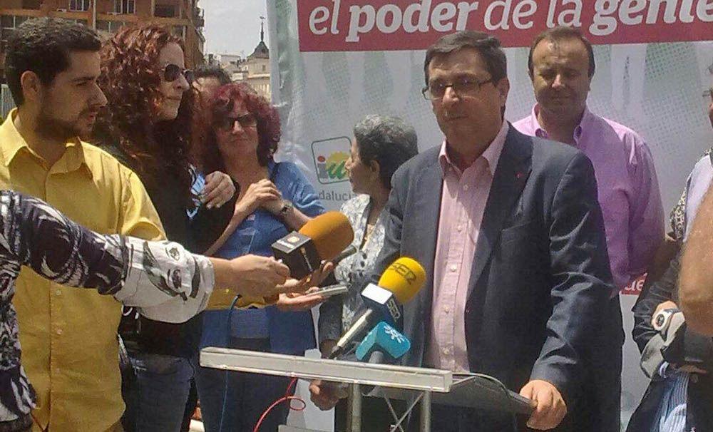 José Luis Centella reclama a Europa una política industrial para Linares