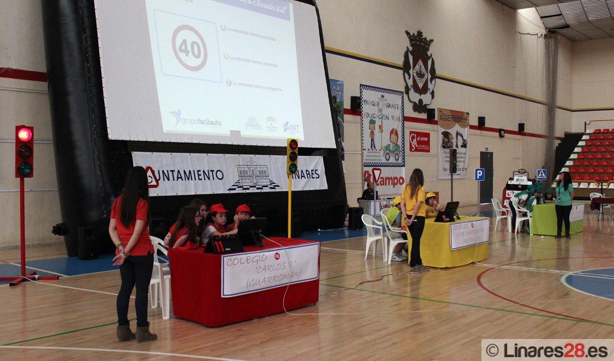 """Celebrado en Linares eI Concurso Provincial """"Gana puntos con la Educación Vial"""""""