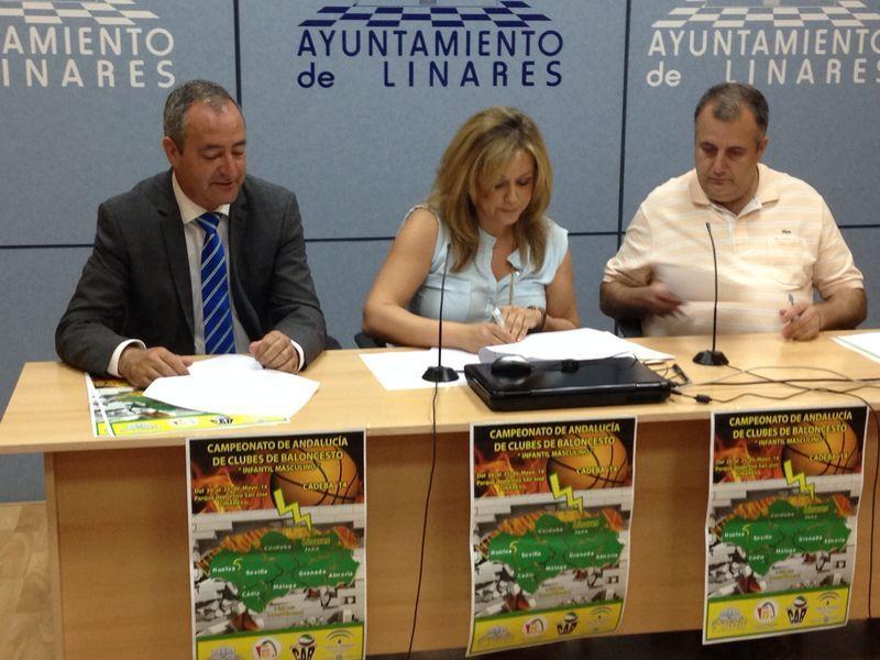 Linares albergará el Campeonato de Andalucía infantil masculino 13 – 14 de baloncesto