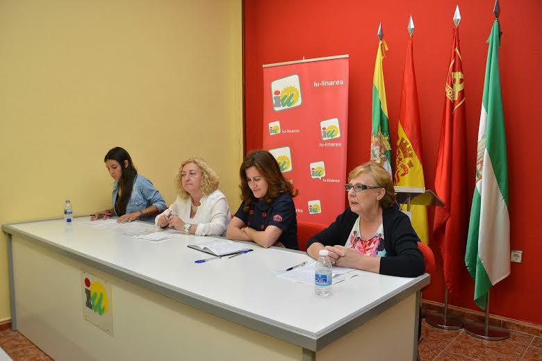 IU debate sobre la situación de jóvenes y mujeres