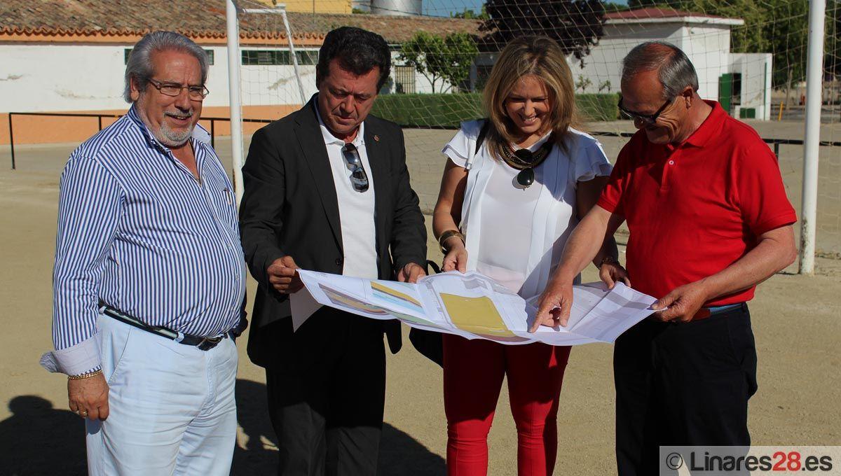 CADE se hace con la instalación de césped en Linarejos