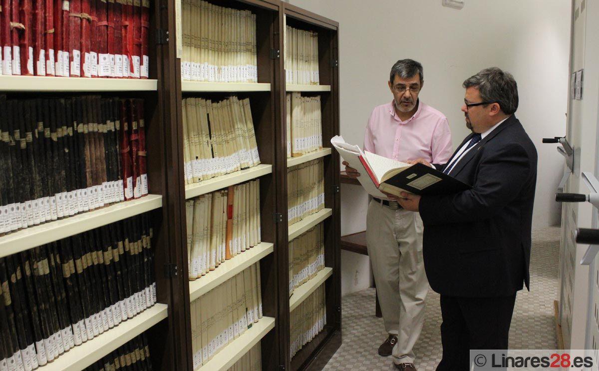 """Linares celebra el """"Día Internacional de los Archivos"""""""