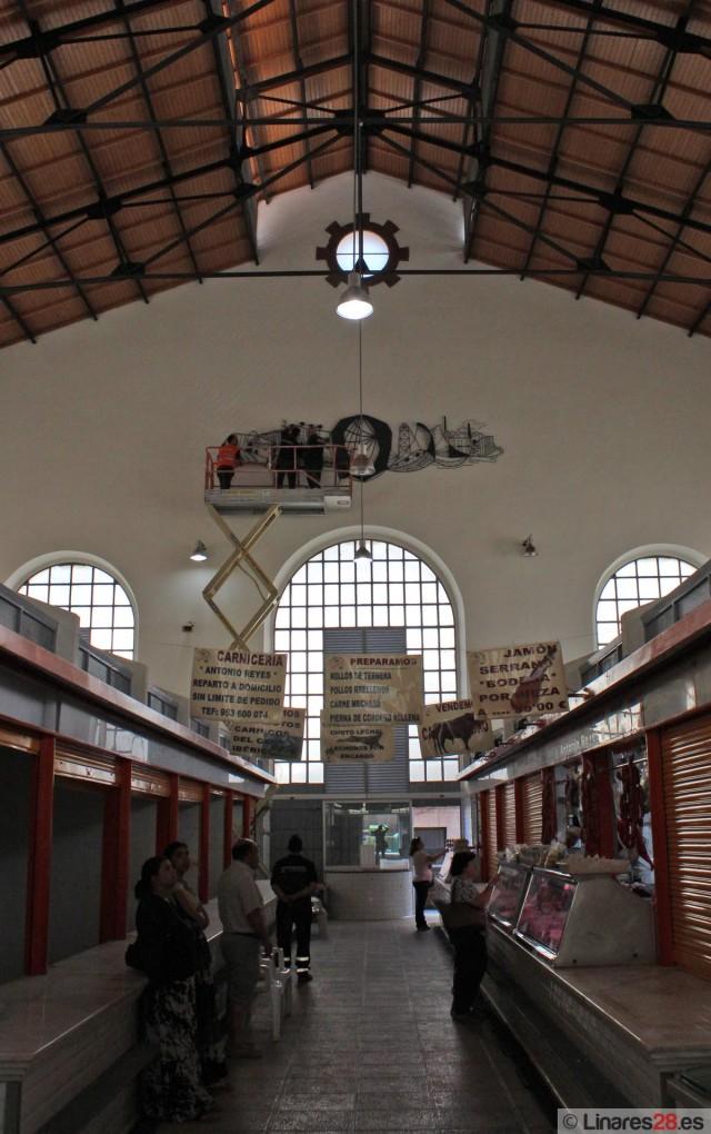 Vista interior del mercado