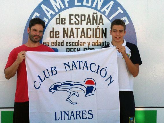 BUENA ACTUACION DEL CLUB DEPORTIVO NATACIÓN LINARES EN CAMPEONATO ESPAÑA DE NATACION EN EDAD   ESCOLAR.