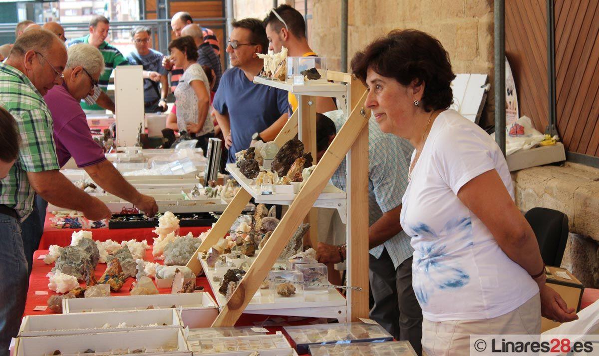 Mercadillo de minerales por Feria
