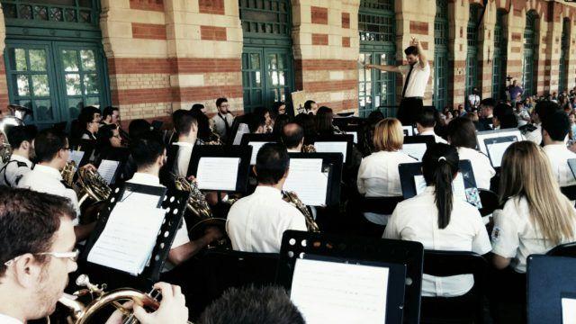 Momento del concierto