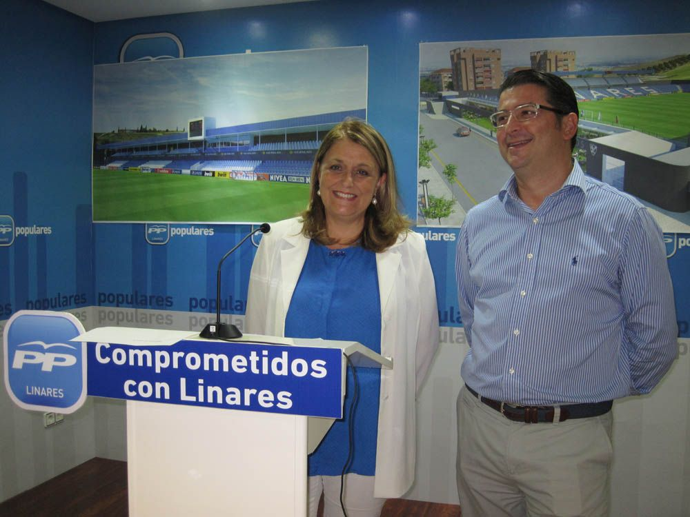Ángeles Isac y Antonio Delgado