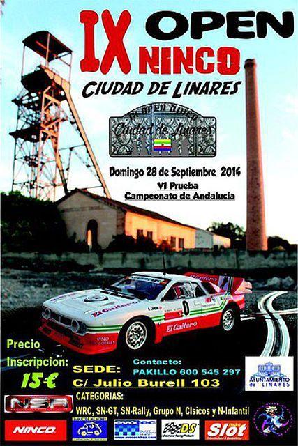 """Hoy se celebra el IX Open Ninco """"Ciudad de Linares"""