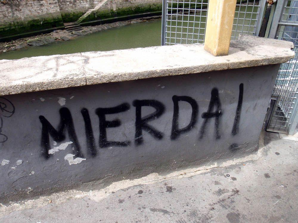 OJO CON LA MIERDA, QUE ….