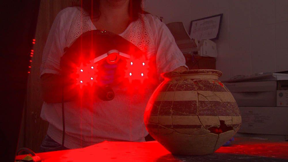 Expertos de la UJA utilizan la tecnología en 3D para reproducir esculturas del museo de Cástulo