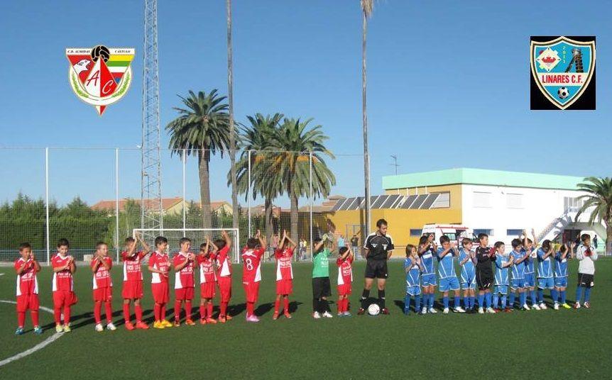 Los benjamines del CD Almidas Cástulo vencen al CD Linares 2011 CF