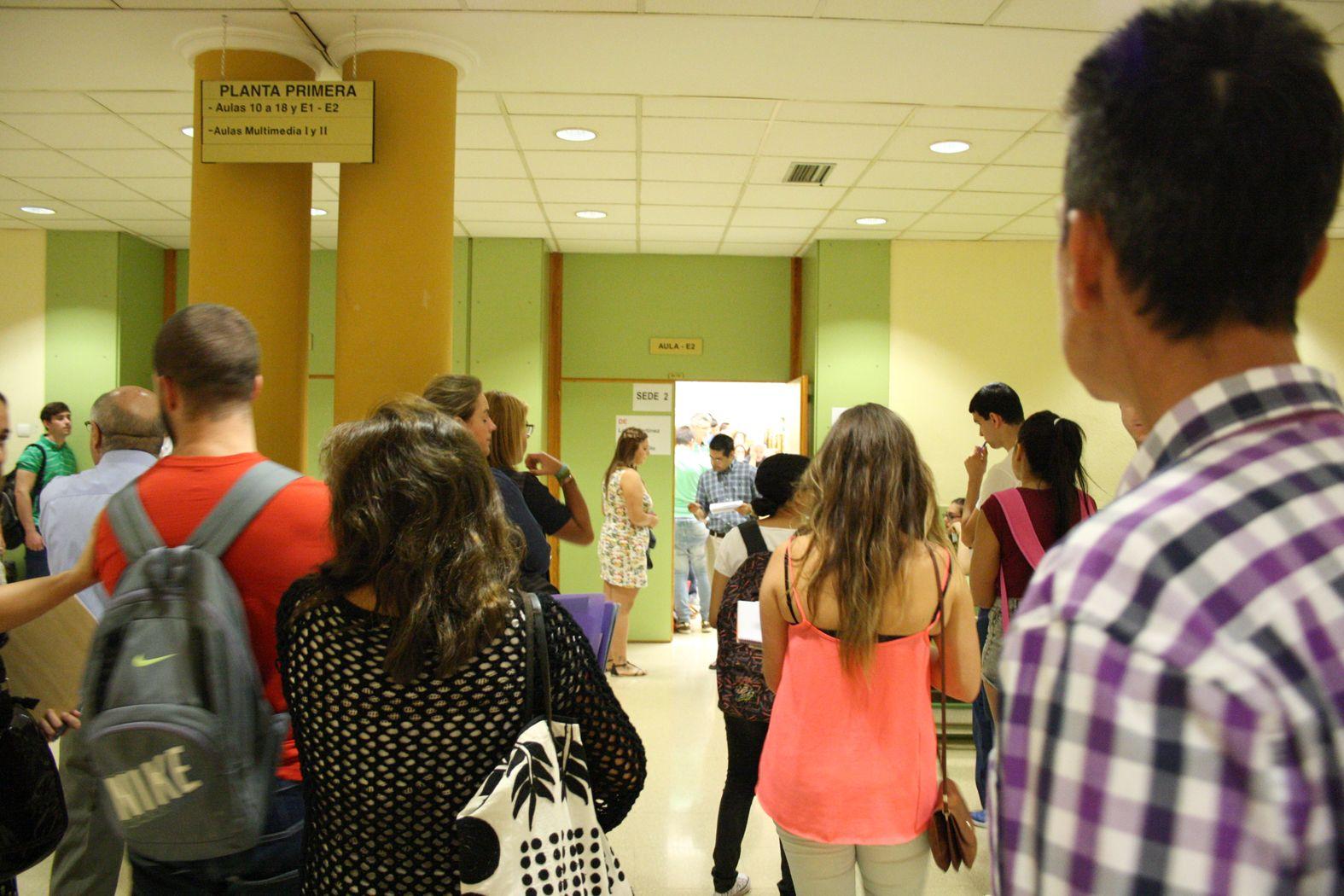 Comienza la Prueba de Acceso a la Universidad (Selectividad) en la provincia de Jaén en la convocatoria de septiembre para alrededor de 850 estudiantes