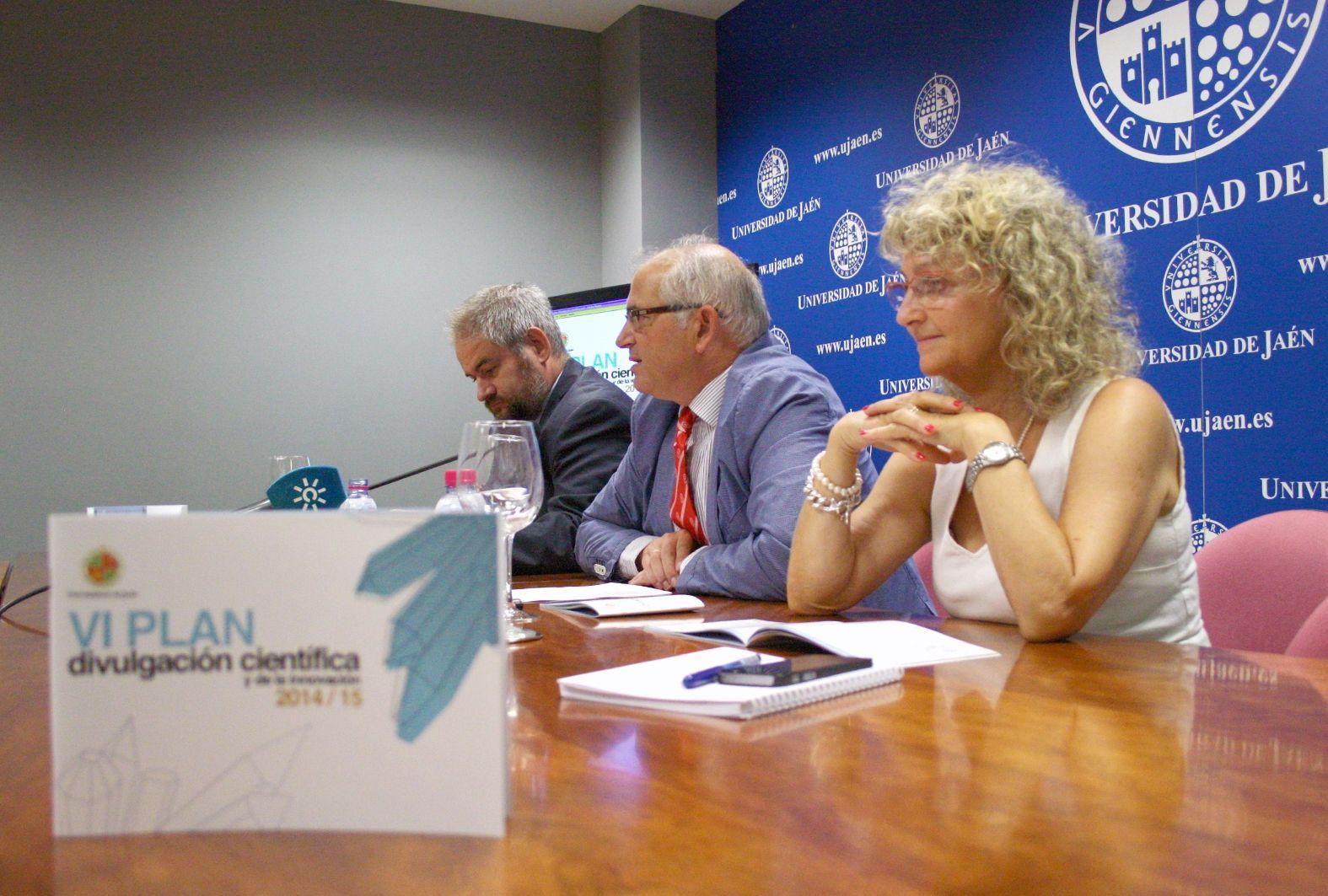 La Universidad de Jaén presenta su VI Plan de Divulgación Científica y de la Innovación con el objetivo de acercar la ciencia a la sociedad