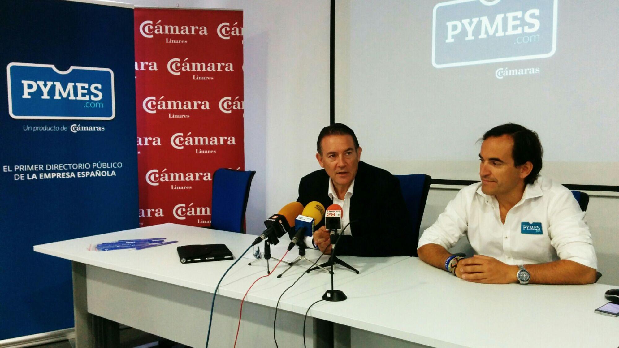 La Cámara de Comercio de Linares presenta el portal PYMES.COM