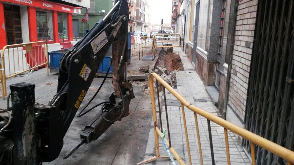 Mejoras en la red de abastecimiento de la Avda. Andrés Segovia