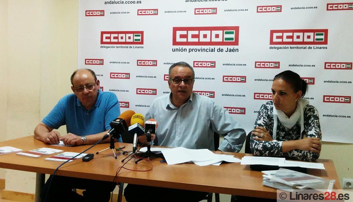 """CCOO presenta en Linares el Estudio """"Observatorio Social de las Personas Mayores 2014"""""""
