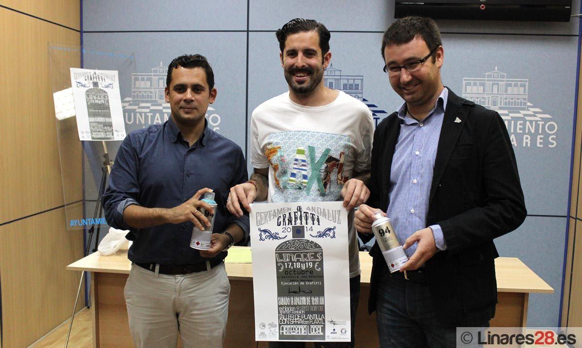 Linares acoge este fin de semana la final del Certamen Joven de Graffiti