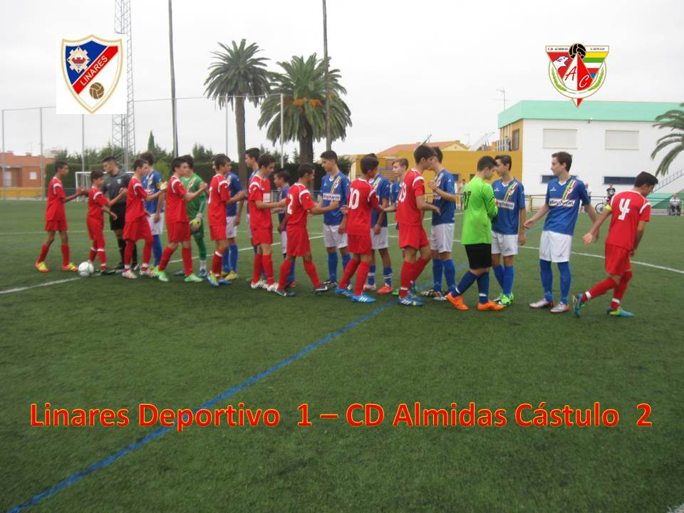 Los Cadetes del Almidas ganan en un gran encuentro a los del Linares Deportivo