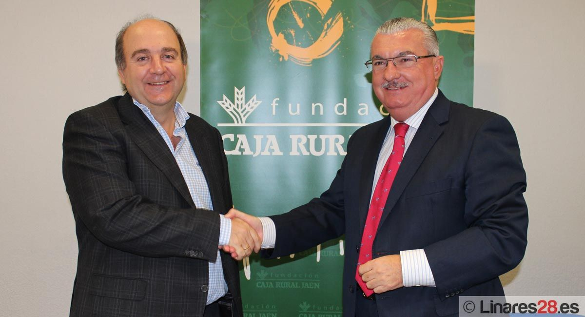 La Fundación Caja Rural de Jaén firma un convenio con el Club Deportivo Almidas Cástulo