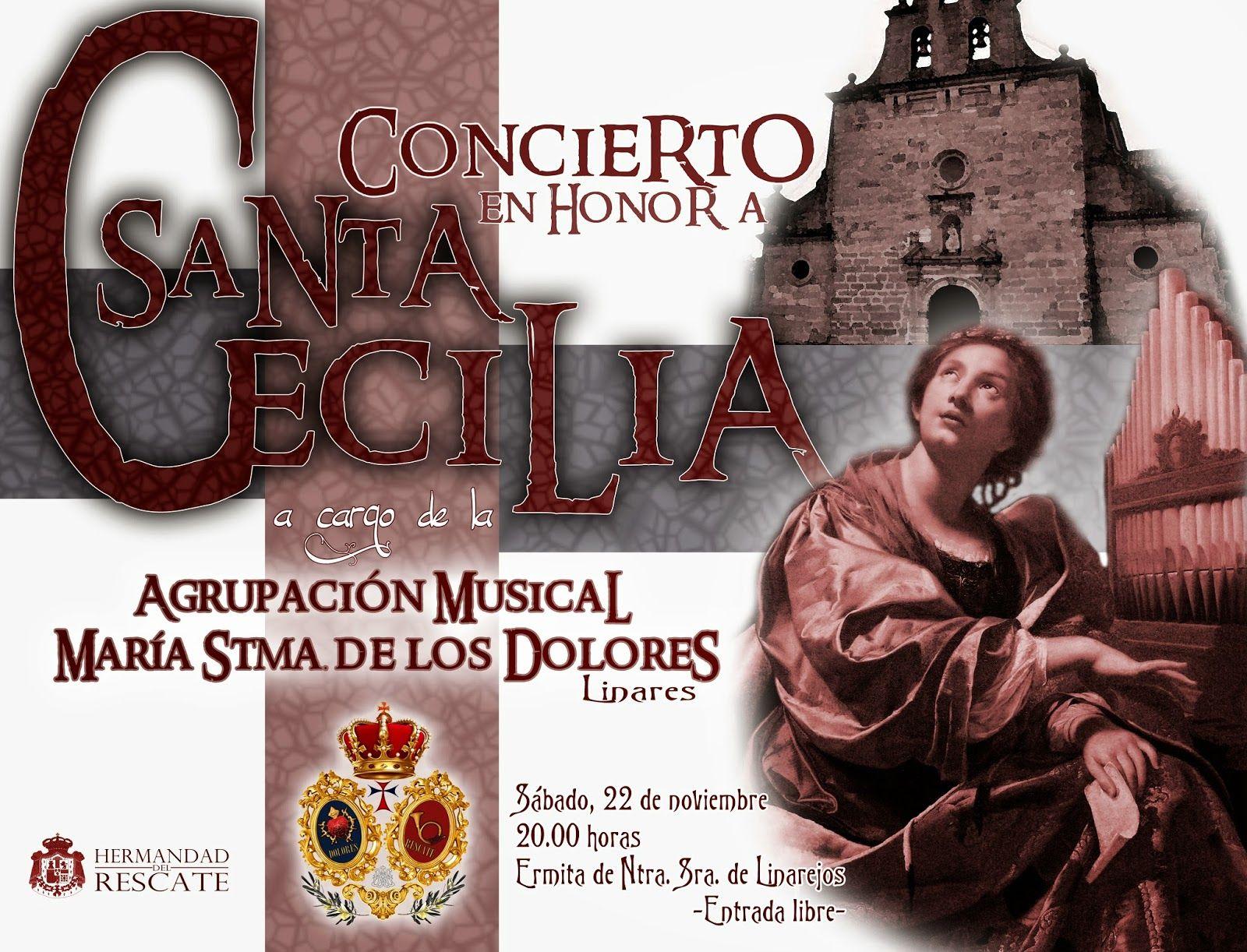 Concierto de Santa Cecilia de la Agrupación Musical María Stma. de los Dolores
