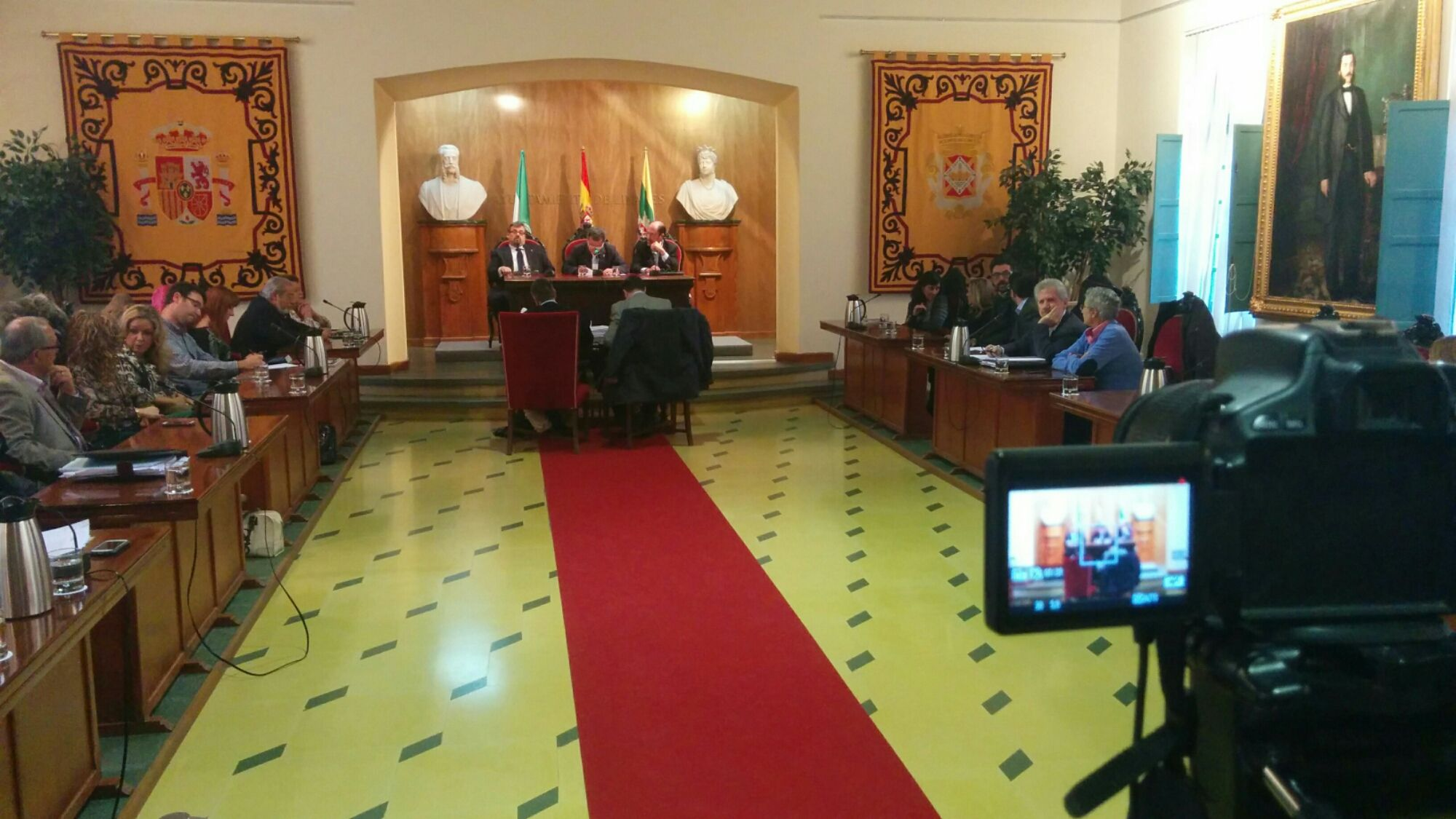 En estos momentos comienza el Pleno en la Estación de Madrid