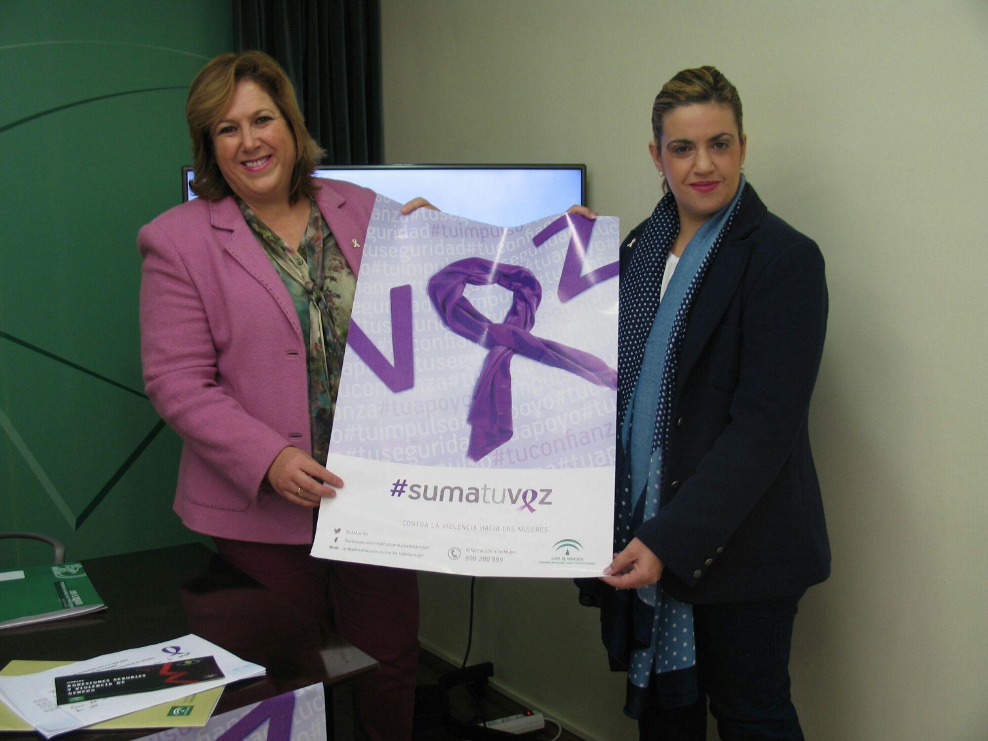 La Junta de Andalucía lanza para el 25 de noviembre la campaña ciudadana #Sumatuvoz contra la violencia machista