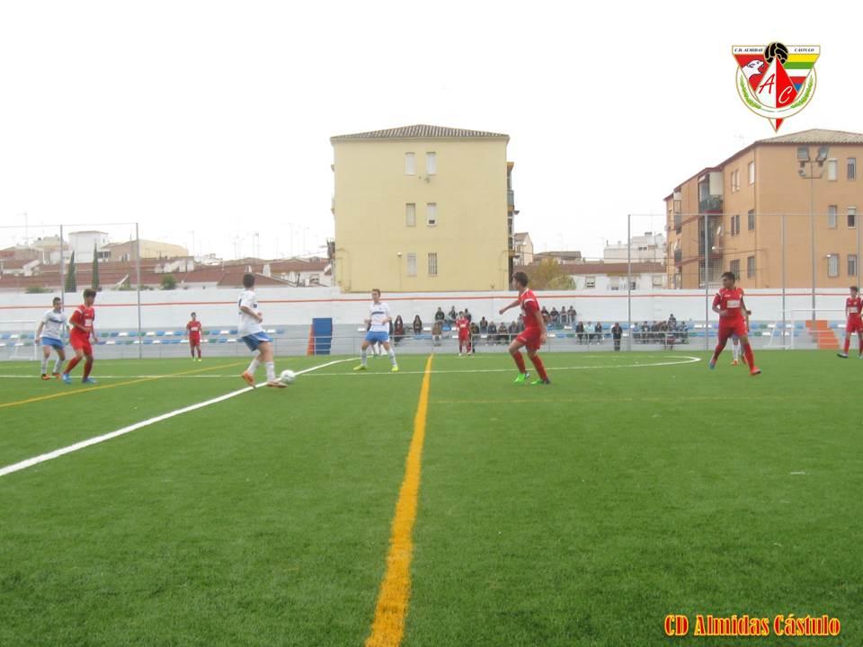 Los cadetes del CD Almidas Cástulo vencen por goleada al equipo del Vilches