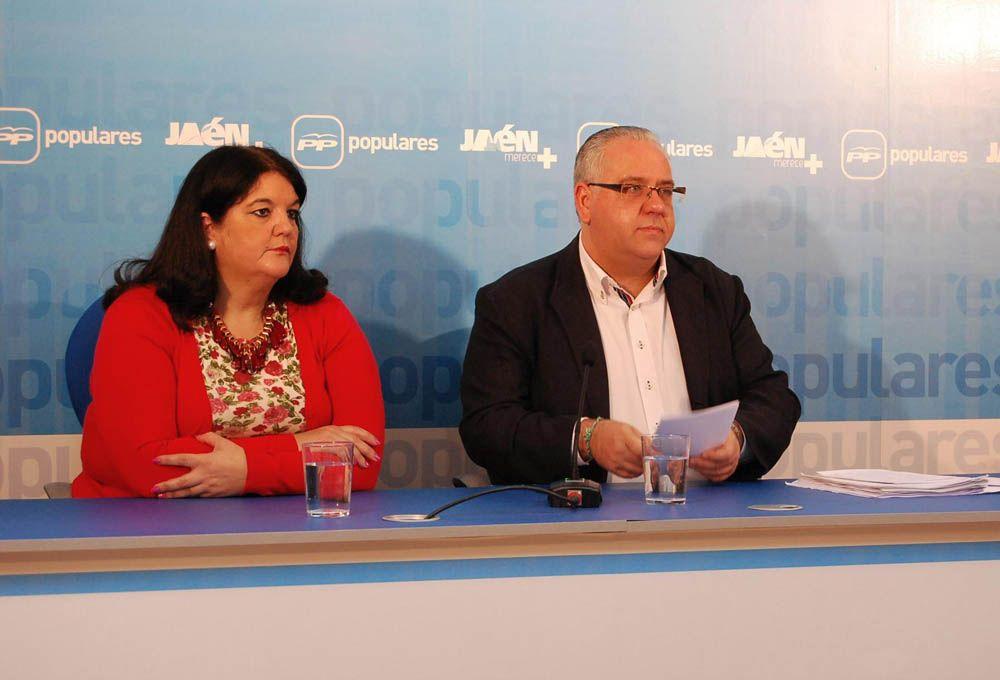 """El PP de Jaen afirma que los presupuestos de la Diputación """"dan la espalda a los ayuntamientos porque les recortan 5,3 millones de euros"""""""