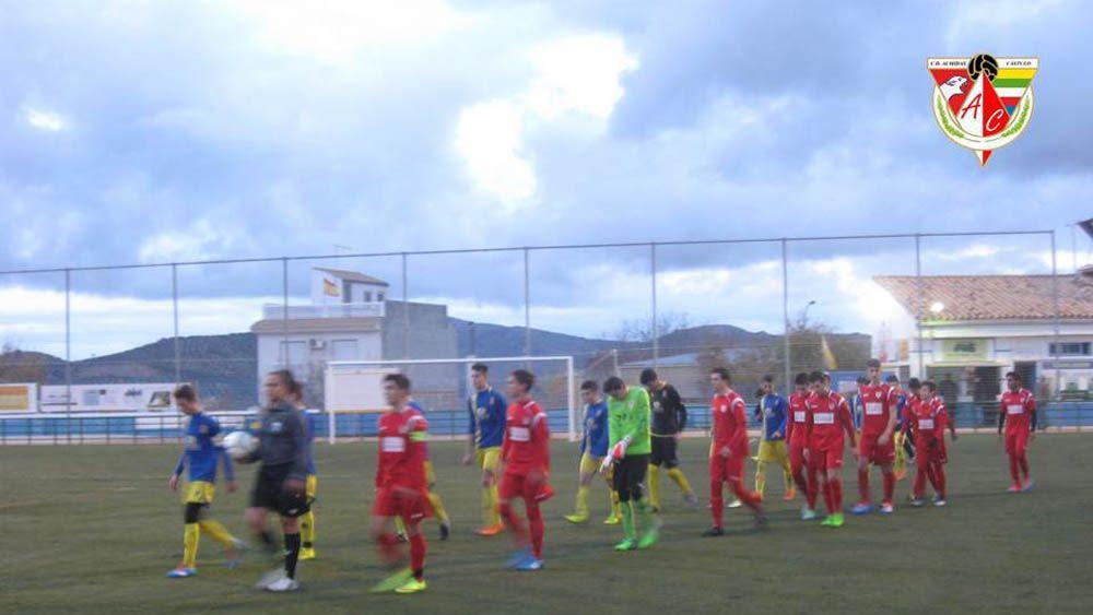 Los Cadetes del CD Almidas Cástulo juegan un gran partido en Huelma