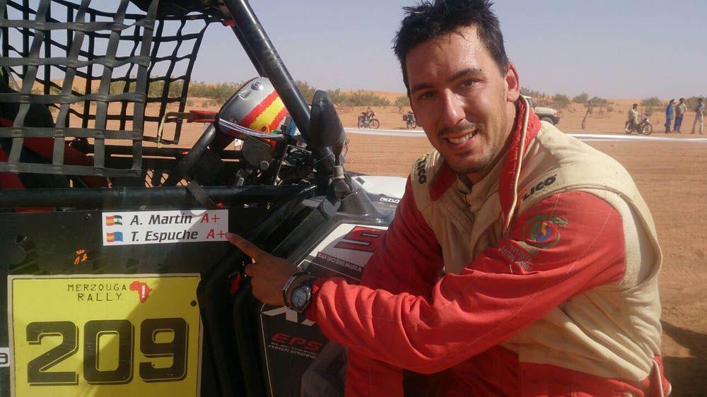 El copiloto Antonio Martín finaliza su mejor temporada