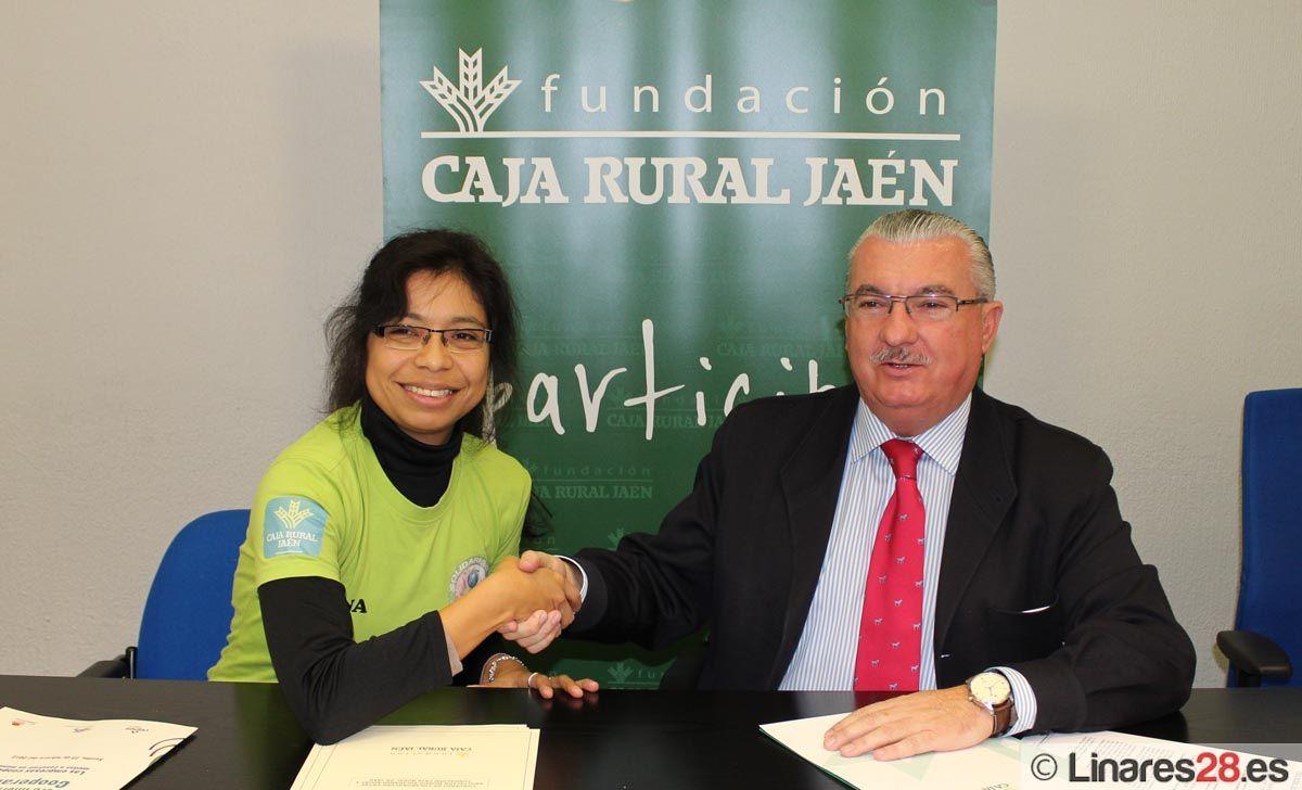 Fundación Caja Rural firma un convenio con Solidari@s Sport
