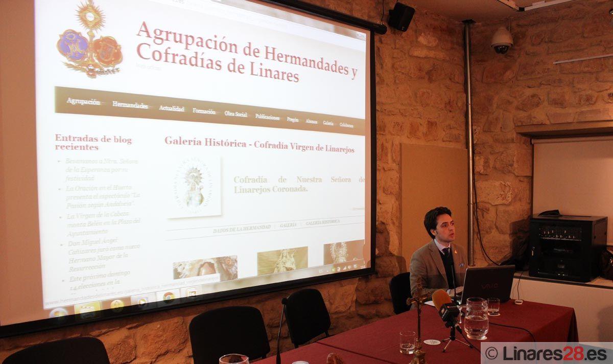 La Agrupación de HH. y CC. presenta su web oficial