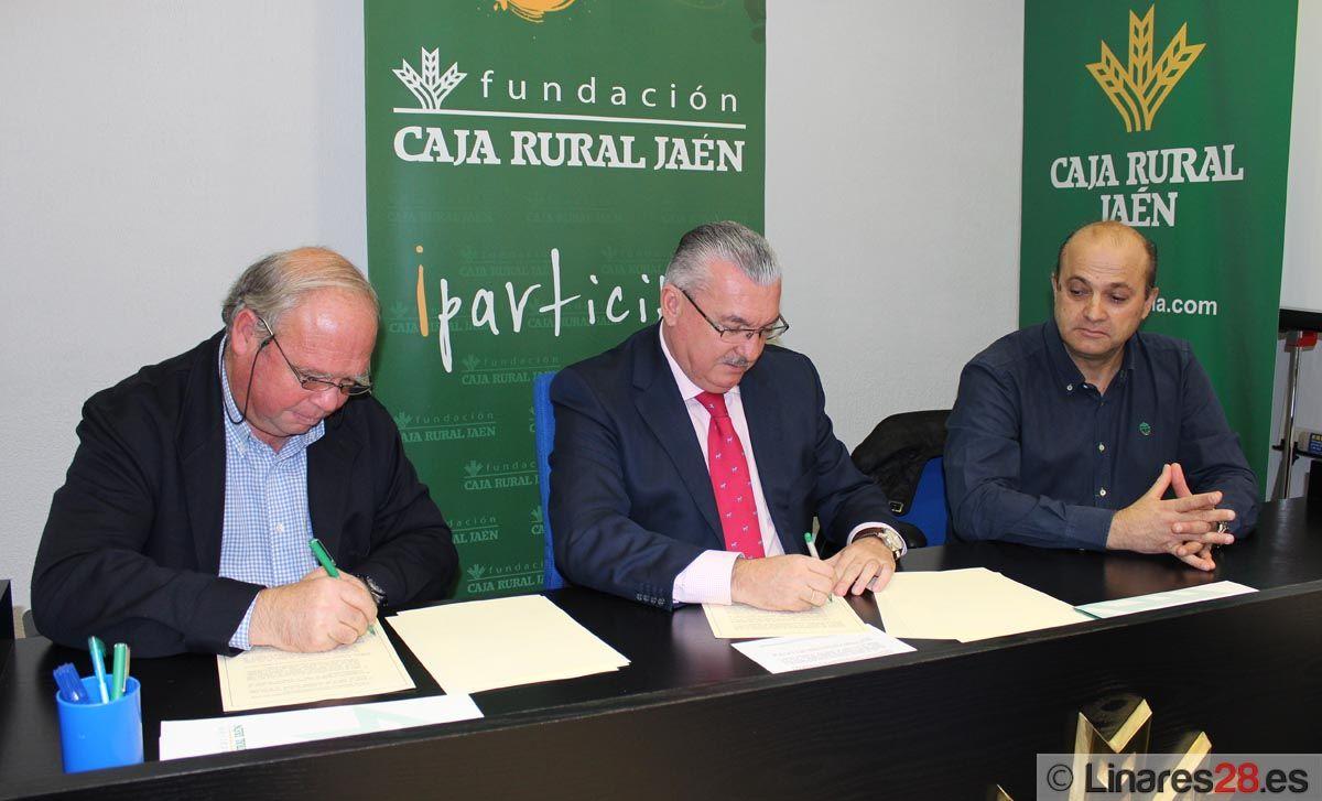 Fundación Caja Rural firma un convenio con el Linares C.F. 2011