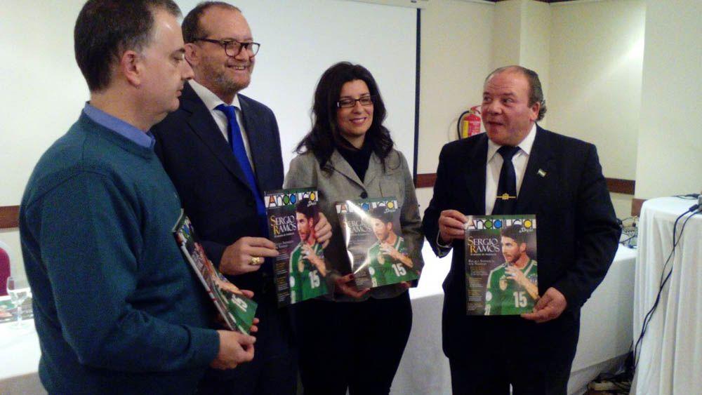 Presentan en Linares la revista Andalucía Press