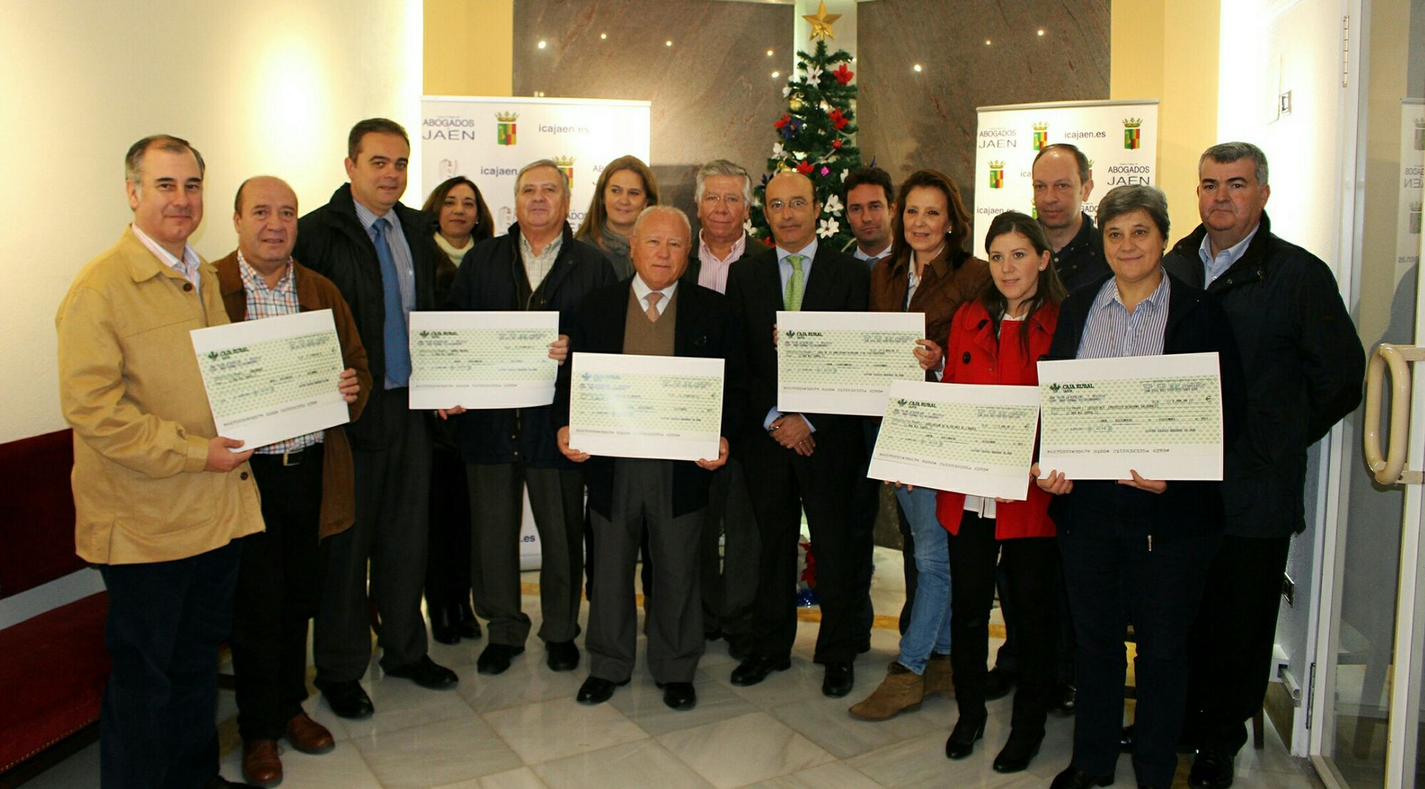La Asociación de Alzheimer de Linares recibe una ayuda económica del Colegio de Abogados de Jaén