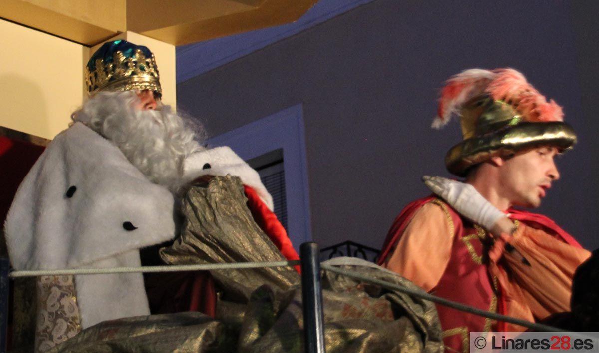 Los Reyes Magos llegan a Linares