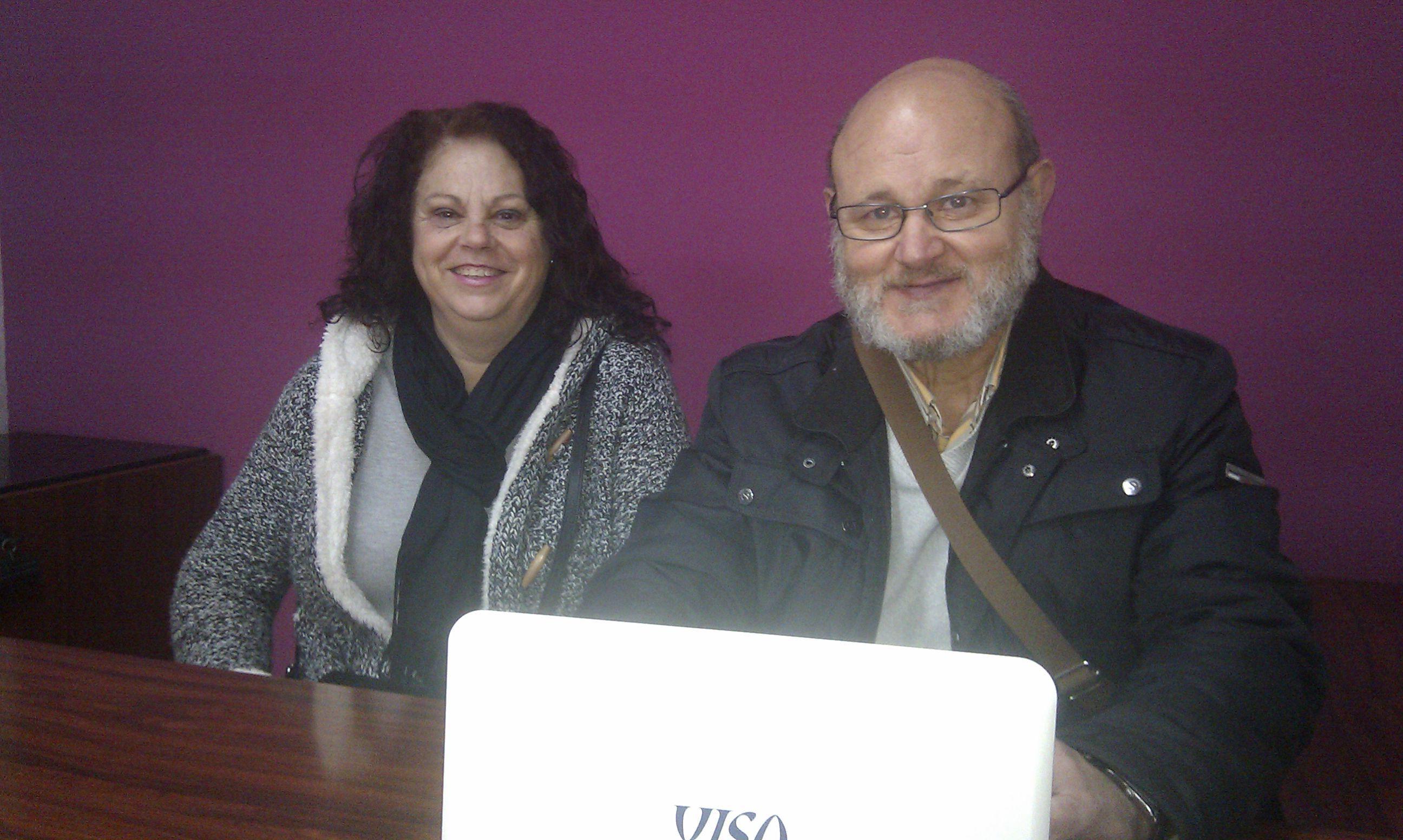 Entrevista a Felipe Padilla y Carmen Rus