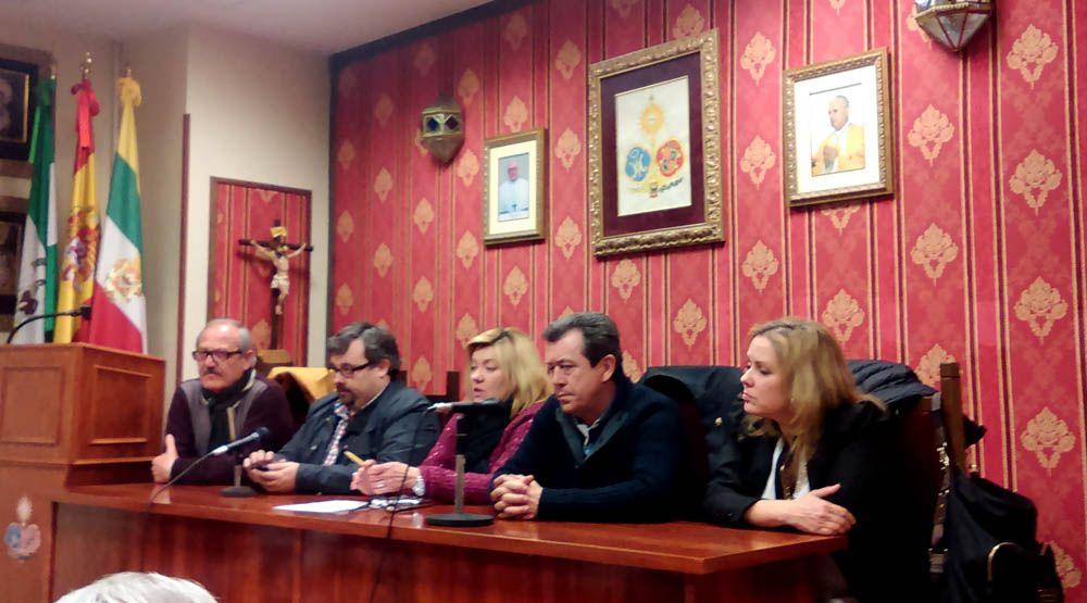 Reunión entre Ayuntamiento y Agrupación de Hermandades y Cofradías