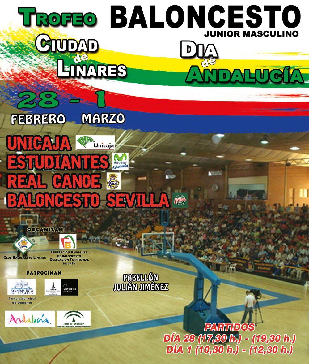 """Trofeo """"Ciudad de Linares"""" de Baloncesto Junior"""
